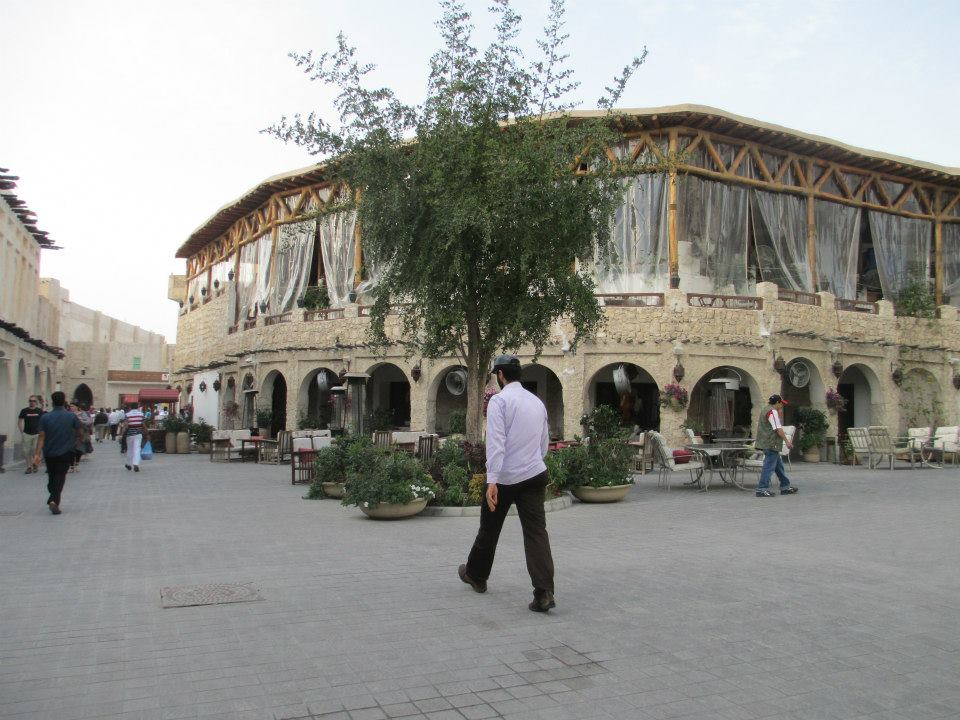 Souq Waqif open air market in Doha Qatar